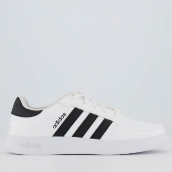 Tênis Adidas Breaknet Feminino Branco e Preto