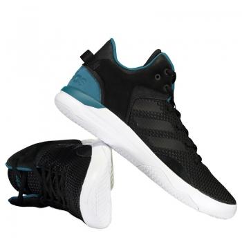 Tênis Adidas Cloudfoam Revival Mid Preto