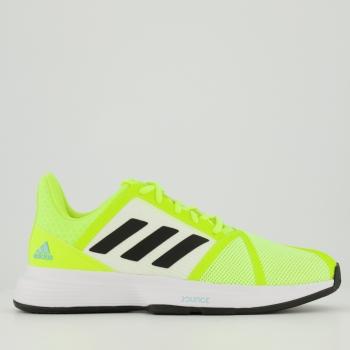 Tênis Adidas CourtJam Bounce Amarelo