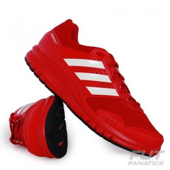 Tênis Adidas Duramo 7k Text Juvenil Vermelho