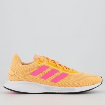 Tênis Adidas Galaxar Run Feminino Laranja