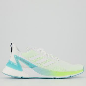 Tênis Adidas Response Super Boost Feminino Branco e Azul