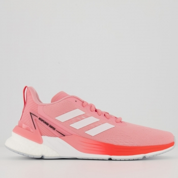 Tênis Adidas Response Super Boost Feminino Rosa