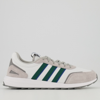 Tênis Adidas Retrorunner Branco e Verde