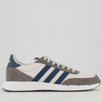 Tênis Adidas Run 60s Branco e Cinza