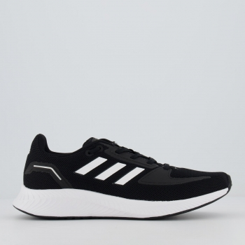 Tênis Adidas Runfalcon 2.0 Black e White