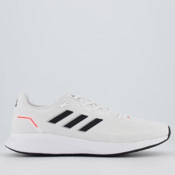 Tênis Adidas Runfalcon 2.0 Branco e Preto