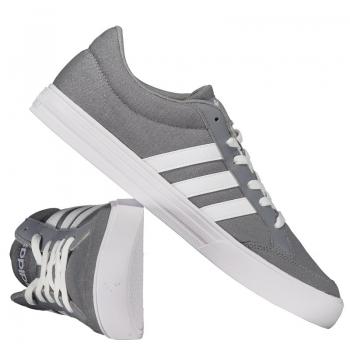 Tênis Adidas Vs Set Cinza