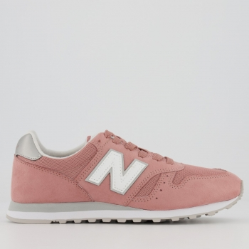 Tênis New Balance 373 Feminino Rosa e Cinza