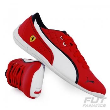 Tênis Puma Scuderia Ferrari Drift Cat 6 L Nm Juvenil