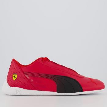 Tênis Puma Ferrari R-Cat Vermelho