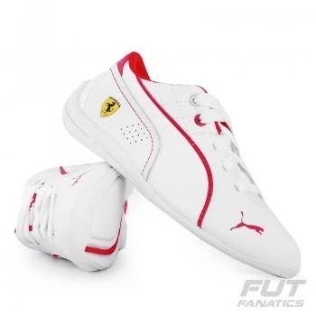Tênis Puma Scuderia Ferrari Drift Cat 6 L Nm Ps Infantil