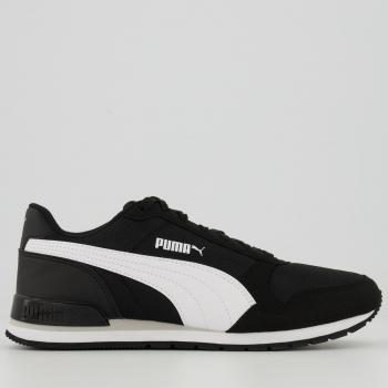 Tênis Puma ST Runner V2 Mesh Feminino Preto