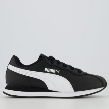 Tênis Puma Turin II Preto e Branco