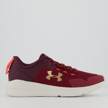 Tênis Under Armour Charged Essential Feminino Vinho