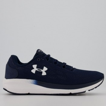 Tênis Under Armour Charged Pursuit 2 Marinho