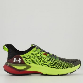 Tênis Under Armour Charged Stamina Amarelo