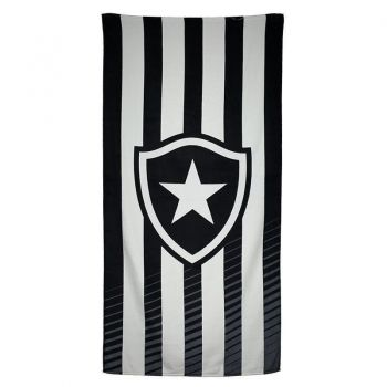 Toalha Dohler Botafogo Estampada Preta