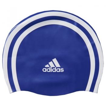 Touca de Natação Adidas 3s Silicone Azul