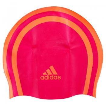 Touca de Natação Adidas 3S Silicone Infantil Rosa