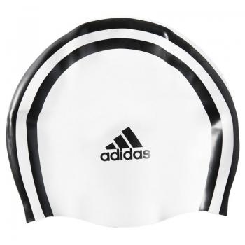 Touca de Natação Adidas Silicone 3s Branca