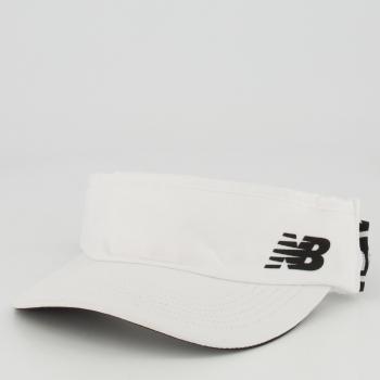 Viseira New Balance Logo Branca
