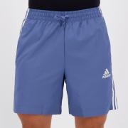 Bermuda Adidas Chelsea Stripes Azul