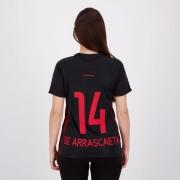 Camisa Flamengo Upper Feminina 14 De Arrascaeta