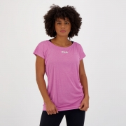 Camiseta Fila Drapped III Feminina Rosa Mescla