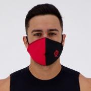 Máscara Flamengo Rubro Negro