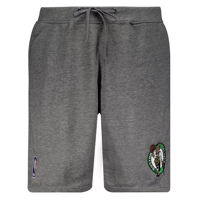 Bermuda Moletom NBA Boston Celtics Grafite - FutFanatics c05096a1a22f2