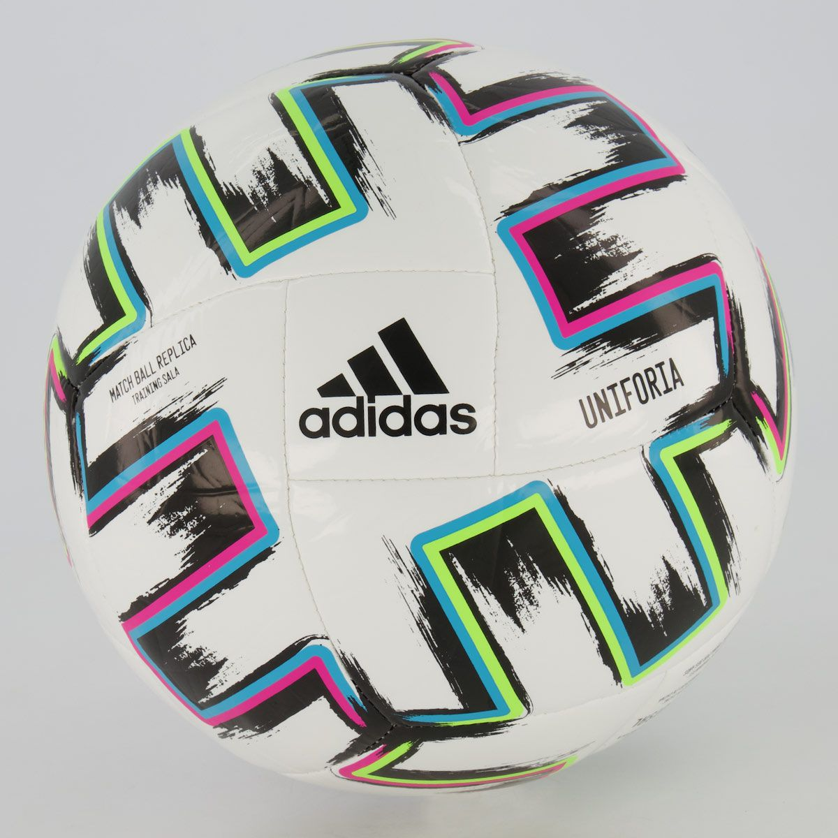 Fut Fanatics BR Bola Adidas Euro20 Treino Futsal Branca