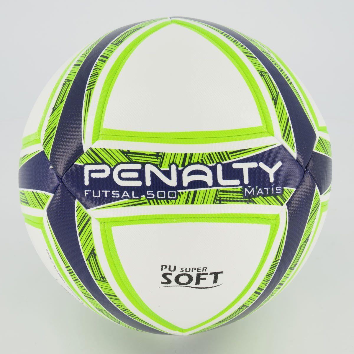 Cupom de desconto Bola Penalty Matís DT 500 X Futsal Amarela e Marinho