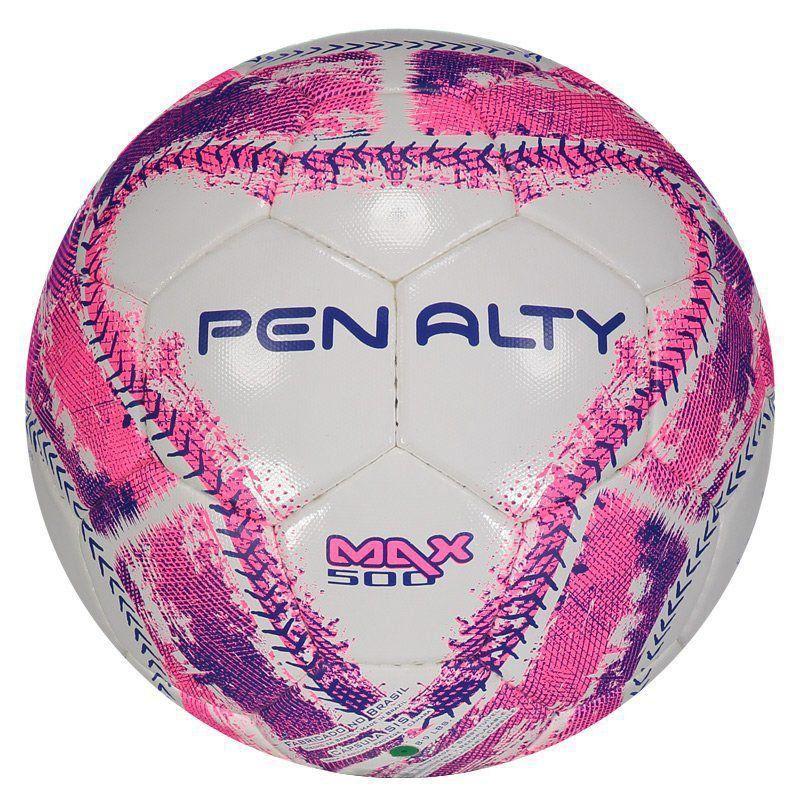 Cupom de desconto Bola Penalty Max 500 Futsal Rosa
