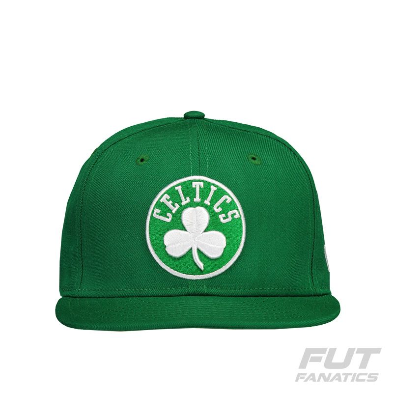 d41d100a9 Boné New Era NBA Boston Celtics 5950 Verde Branco - FutFanatics