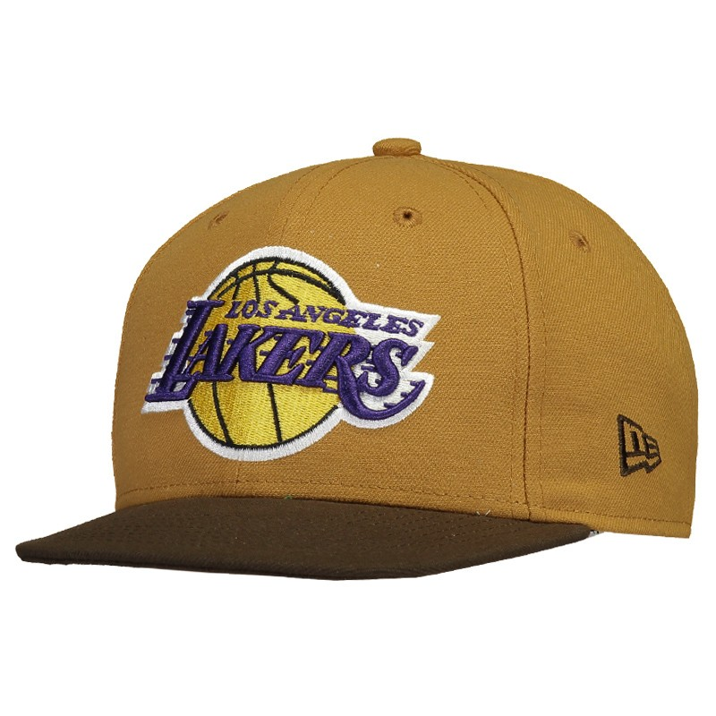 Boné New Era NBA Los Angeles Lakers 950 Marrom - FutFanatics aa739006735