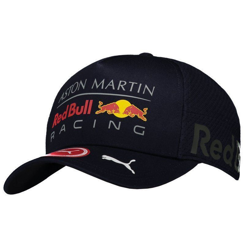 Boné Puma Red Bull Racing Team Gear Marinho - FutFanatics 6429aed433e