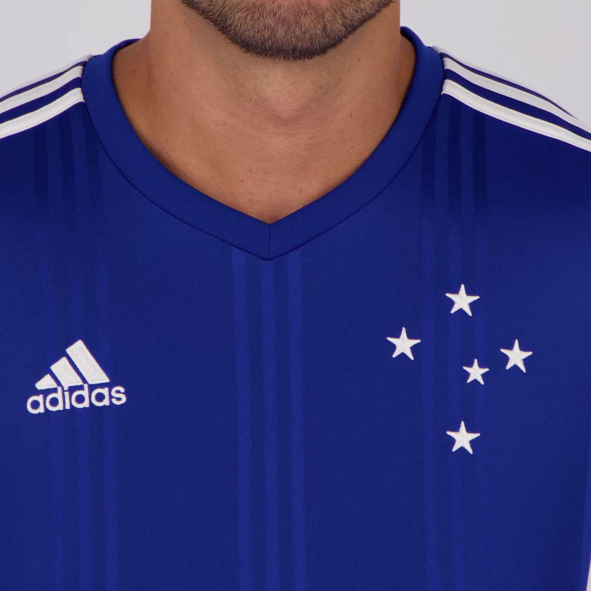 panel Quejar auricular  Camisa Adidas Cruzeiro I 2020 - FutFanatics