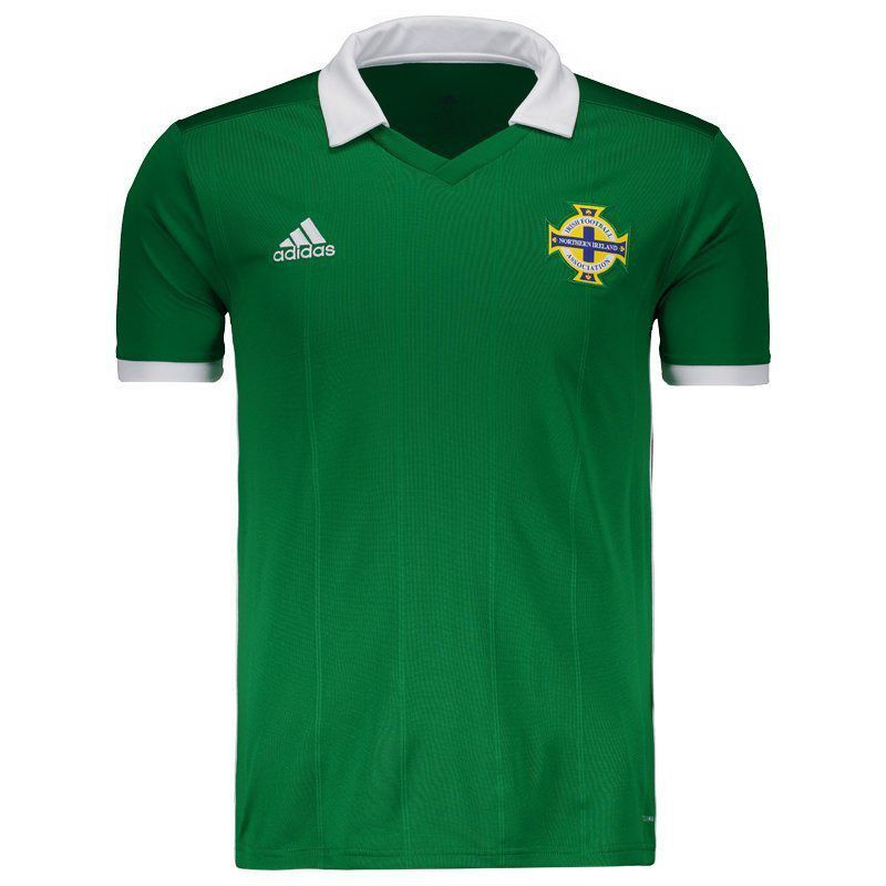 4855be76c9fa4 Camisa Adidas Irlanda do Norte Home 2018 - FutFanatics