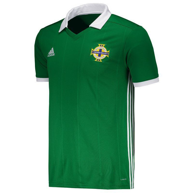 70317d5999 Camisa Adidas Irlanda do Norte Home 2018 - FutFanatics