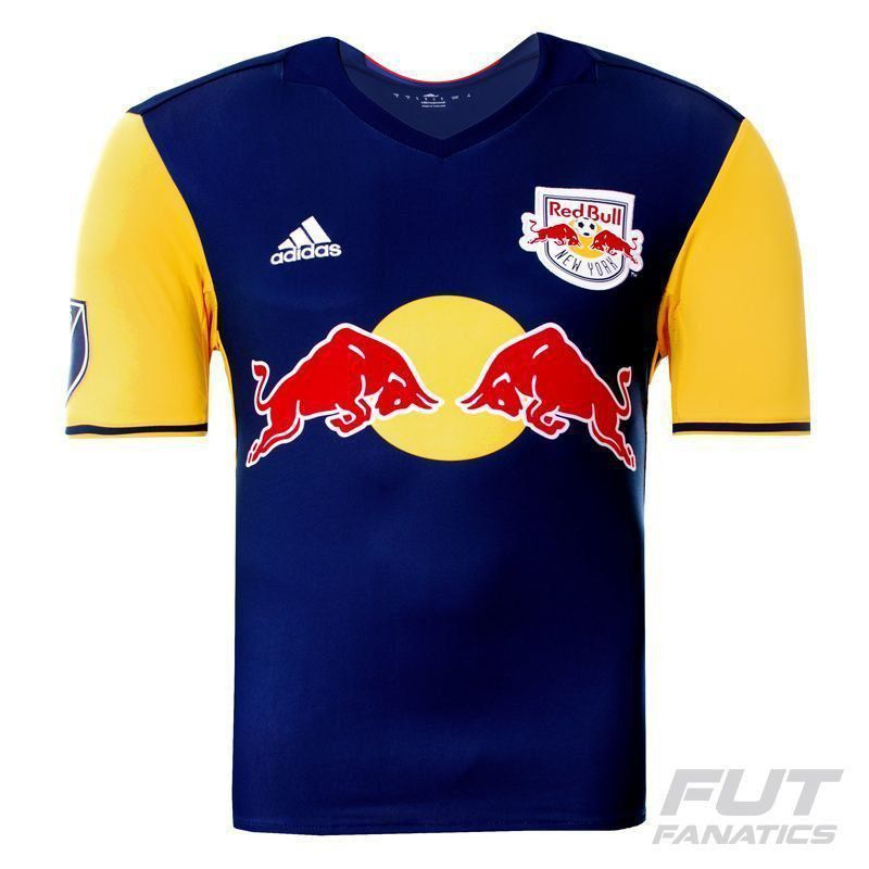 bancarrota atención Convocar  Camisa Adidas Red Bull New York Away 2016 - FutFanatics