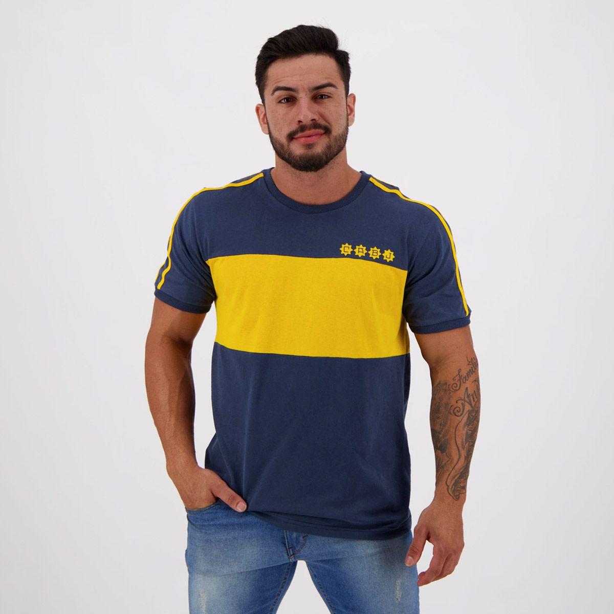 Camisa Boca Juniors 1981 Retrô - FutFanatics