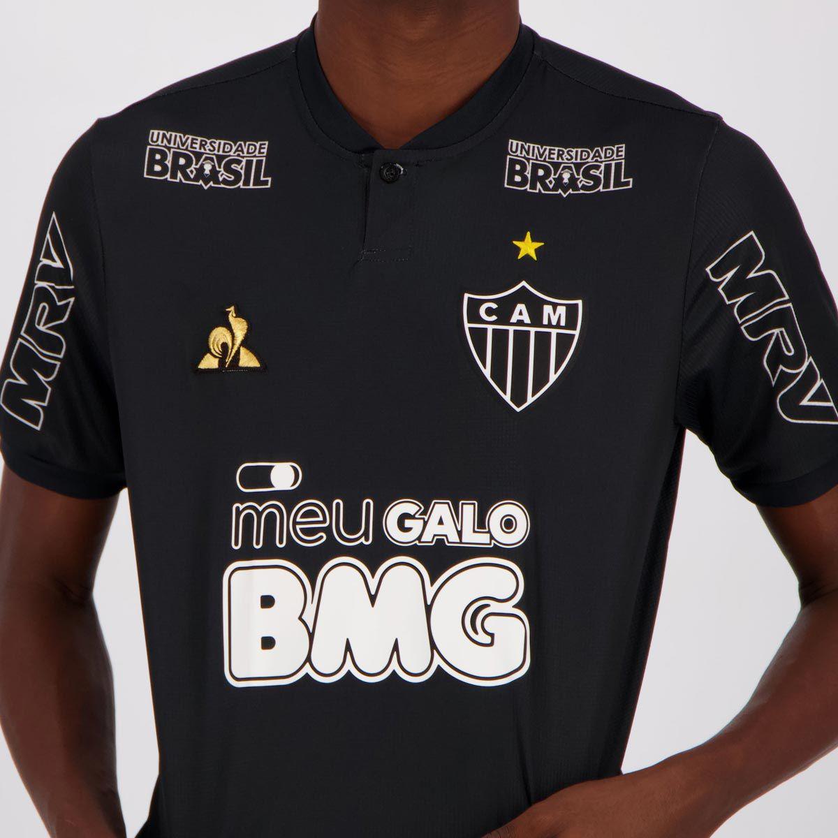 Camisa Le Coq Sportif Atletico Mineiro Iii 2019 Futfanatics