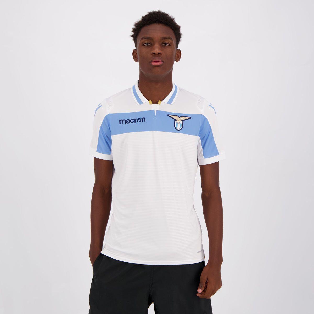 Cupom de Desconto em Camisa Macron Lazio Away 2019 Jogador