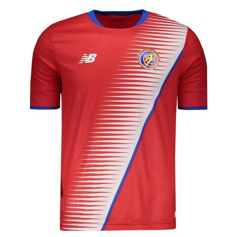 7f9fd00866 Camisa New Balance Costa Rica Home 2018 - FutFanatics