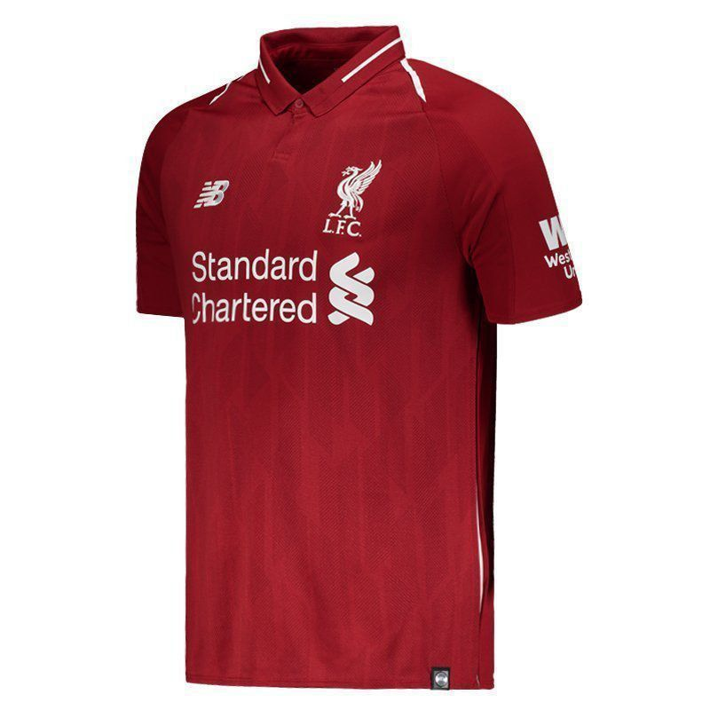 Camisa New Balance Liverpool Home 2019 Futfanatics