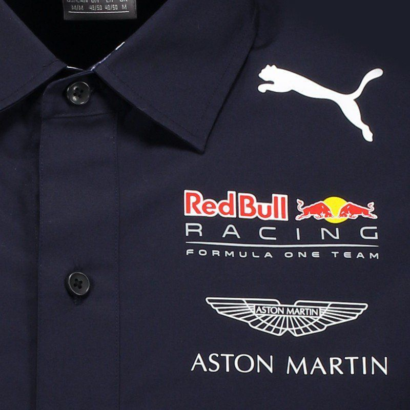 Camisa Puma Red Bull Racing Team - FutFanatics 1b22b1d66b4