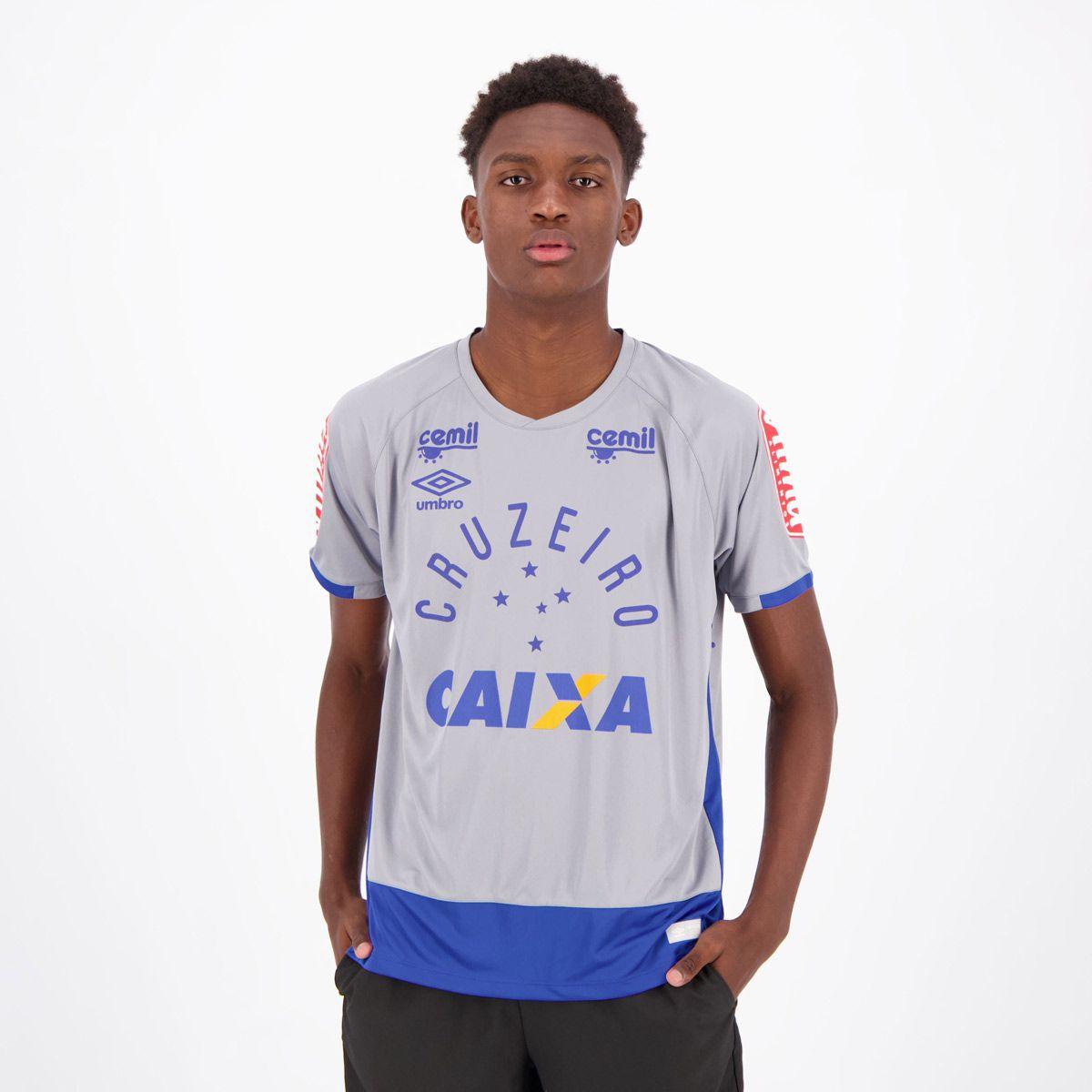 Cupom de Desconto em Camisa Umbro Cruzeiro Goleiro 2016 com Patrocínio Cinza