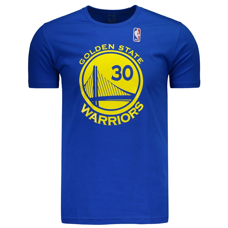 672579772 Camiseta NBA Golden State Warriors 30 Curry Azul - FutFanatics