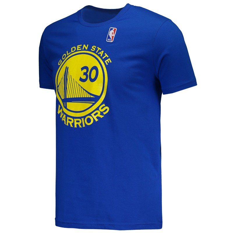 edf78a74946fca Camiseta NBA Golden State Warriors 30 Curry Azul - FutFanatics